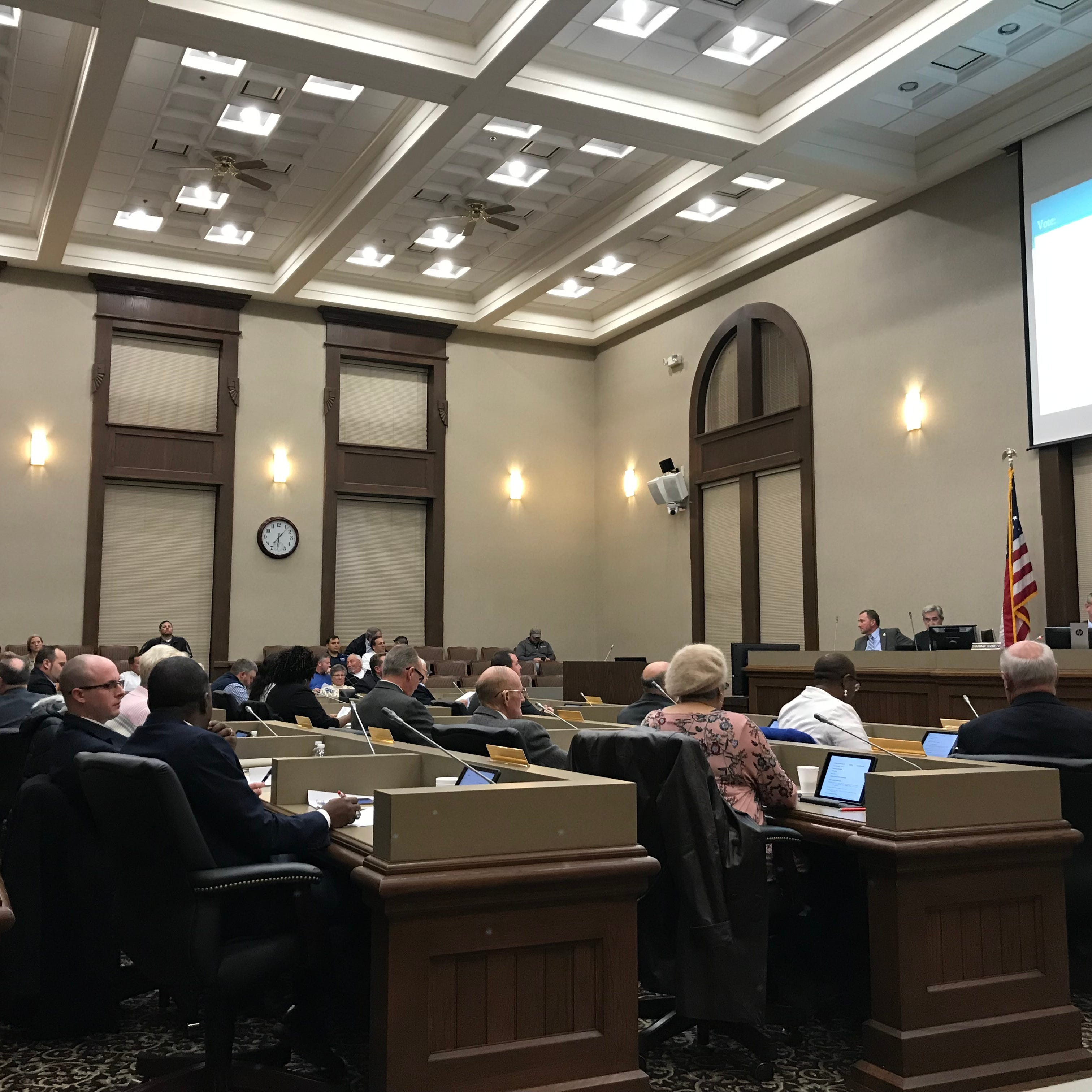 Montgomery County commissioners met in their formal voting session on Tuesday, Nov. 13.