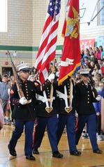 The nation's military veterans were honored by students and staff across the Westfield Public School District on Monday, Nov. 12, with assemblies and other commemorations.
