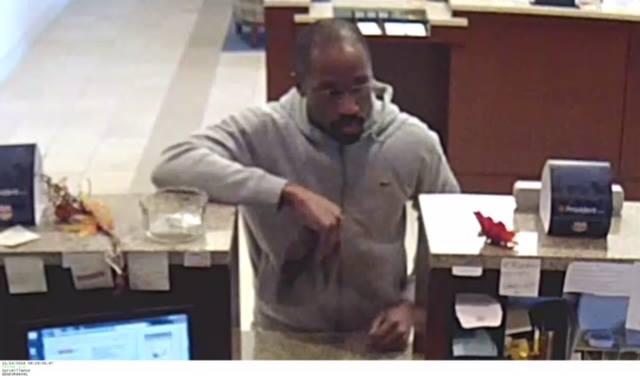 Bridgewater police are seeking the public's help in identifying this man in connection with a bank robbery at the Provident Bank on Union Avenue in the Finderne section.
