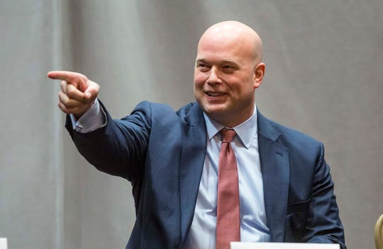 While serving as acting attorney general, Matt Whitaker spoke a year ago at the Rural and Tribal Elder Justice Summit in Des Moines.
