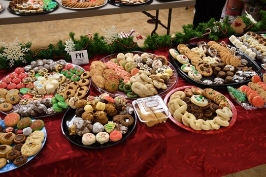 The Cookie Walk at Prince of Peace Lutheran Church in Des Moines takes place on Dec. 1