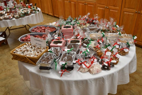 The Cookie Walk at Prince of Peace Lutheran Church in Des Moines takes place on Dec. 1. But don't forget about the homemade candy.