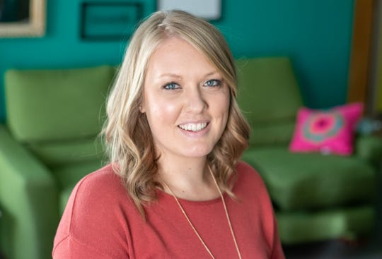Ashley Ezzio is the perinatal program specialist and a doula at the Young Women's Resource Center in Des Moines.