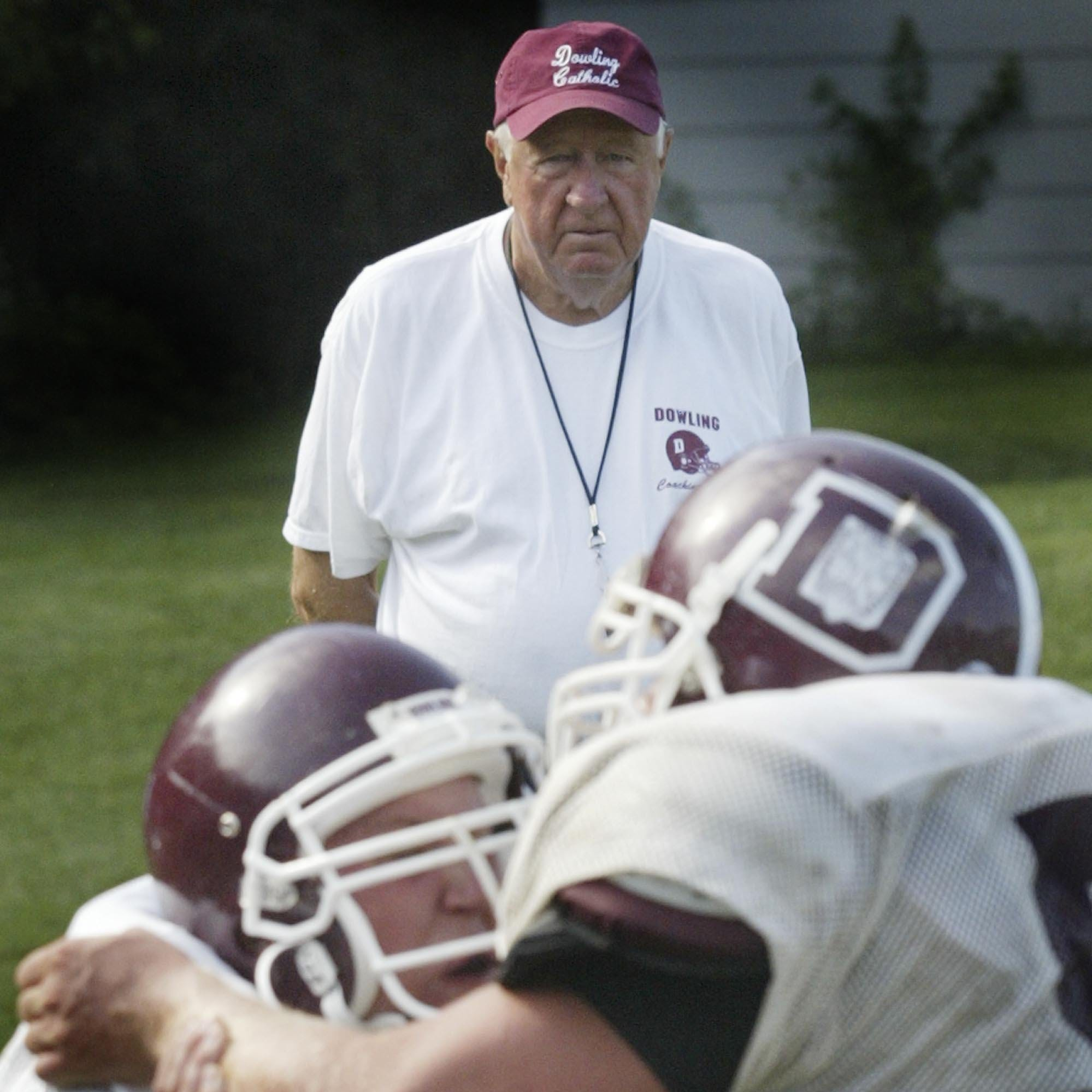 As Dowling Catholic plays for another state title, coaching legend Jim Williams reflects on his career