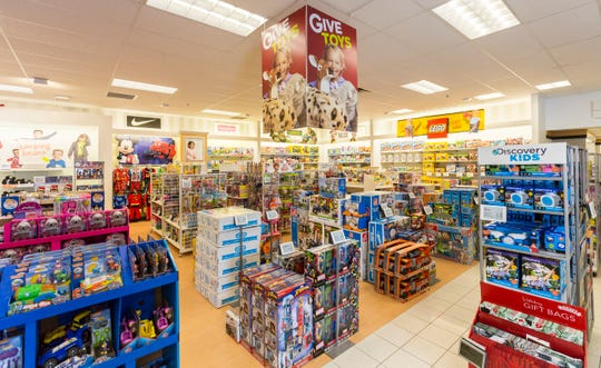 Kohl's is one of several large retailers that has expanded its toy selection for the holidays.