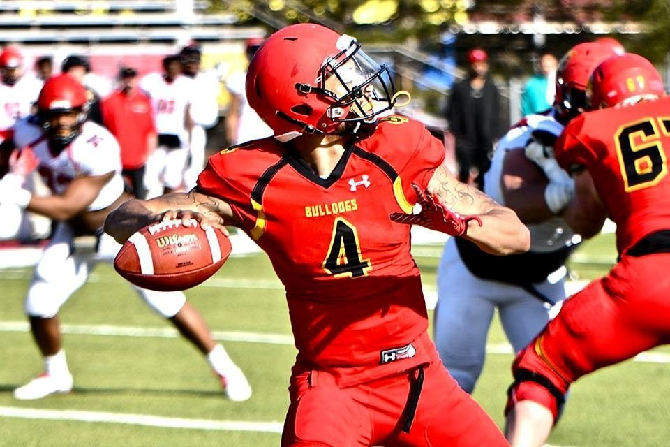 Ferris State quarterback Jayru Campbell was the GLIAC player of the year.