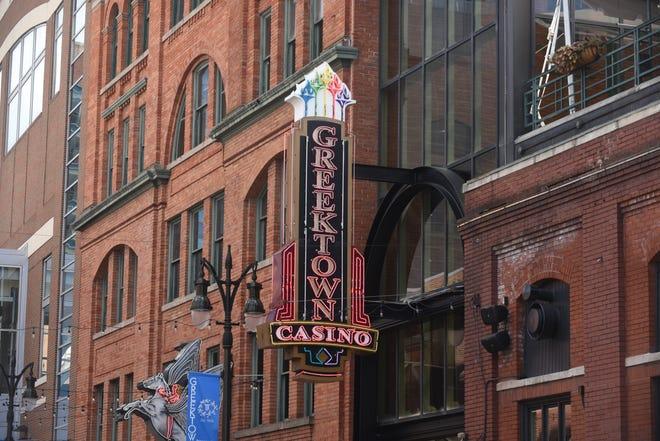 Permanent layoffs at Greektown Casino will begin in September.