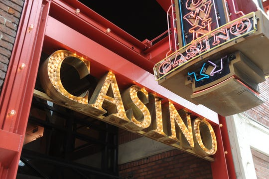 Employees of the Greektown Casino-Hotel received gift cards Friday from former owner Dan Gilbert's JACK Entertainment allowing the gambling center's sale to Penn National Gaming.