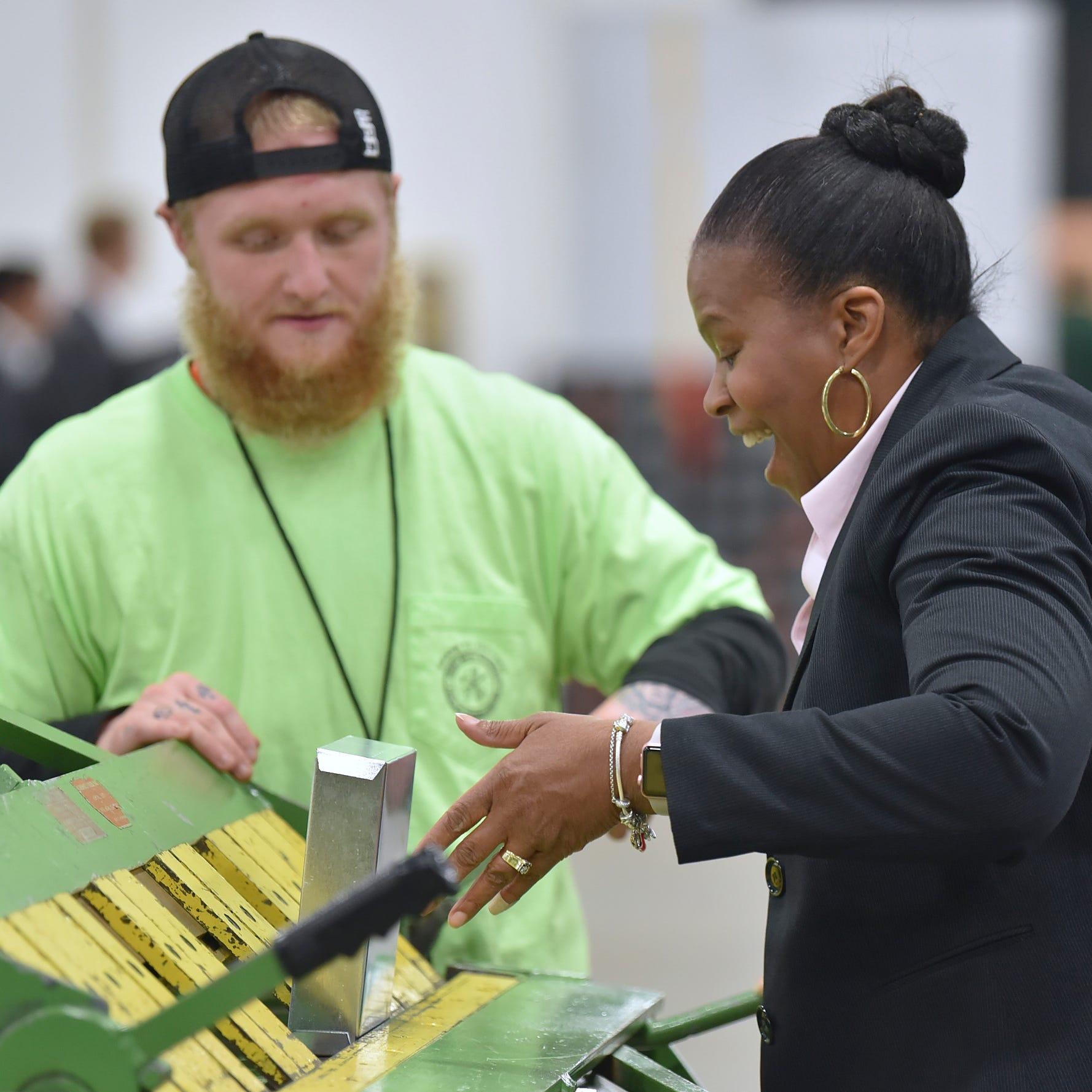 Hundreds explore construction trades at career expo