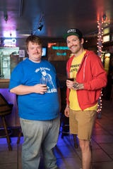 High Score Saloon owners Jared Neible and Clint Hoskins.