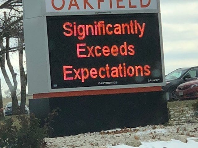 The Oakfield School District earned the highest score available on the state's annual report card that measures student performance and as well as attendance and graduation rates.