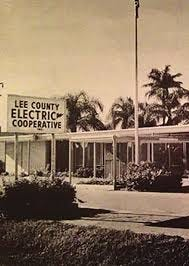 Image of LCEC office at Bayshore Road (circa late '50s/early '60s) is courtesy CCHM.
