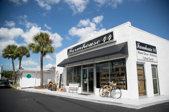 Farmhouse 44 in south Fort Myers is located near the intersection of McGregor Boulevard and College Parkway.