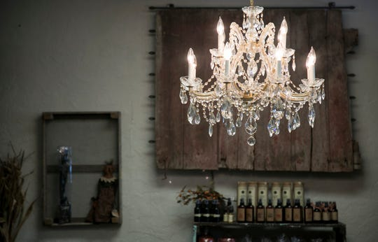 Farmhouse 44's s items are a mix of owner Donna Freeman's personal style plus objects she knows her customers will like.