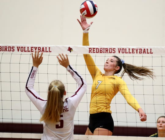 Ashwaubenon's Maddie Koch signed her letter of intent with Purdue University on Wednesday.