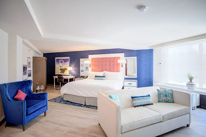 """Hotel Indigo recently opened a hotel in Mount Pleasant, and it """"reflects the culture, character and history of """" the area."""