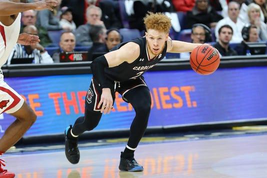 Ncaa Basketball Sec Conference Tournament Arkansas Vs South Carolina