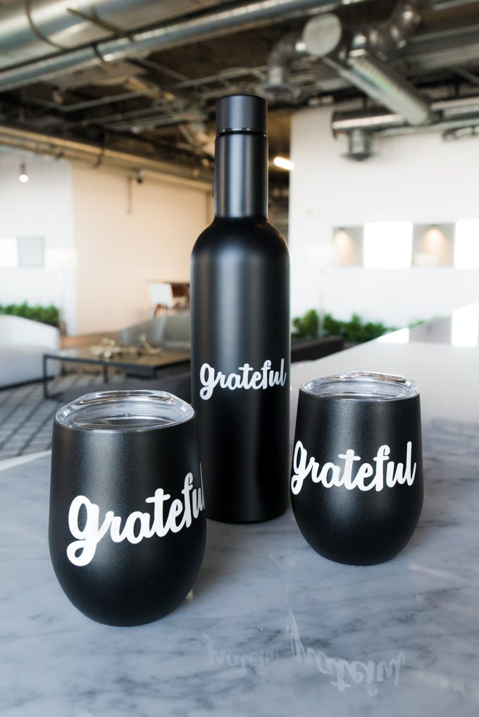 Grateful bottle and tumbler