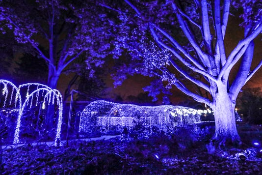 See Whats New At The Indianapolis Museum Of Art Newfield S Winter Lights