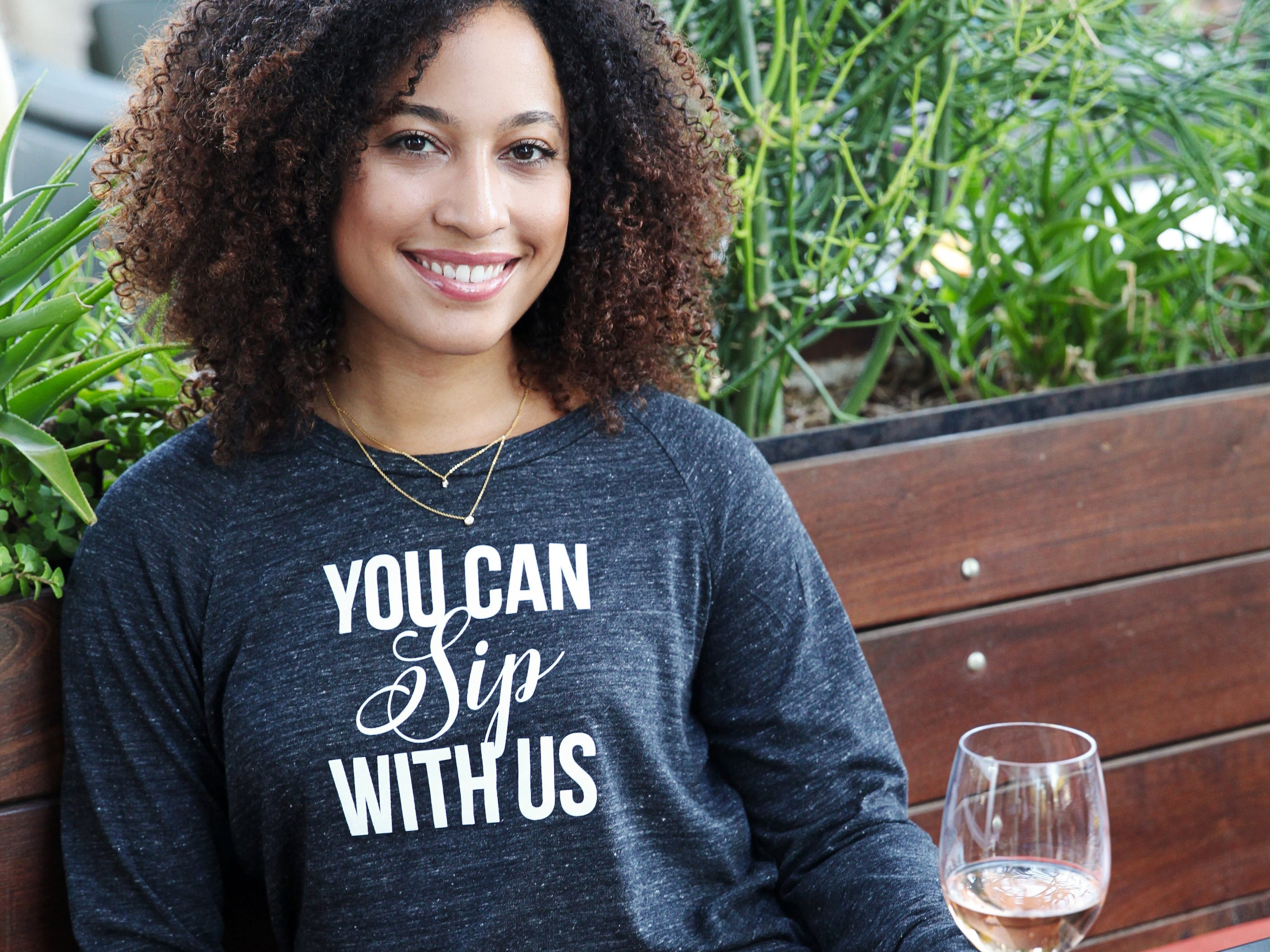 You Can Sip with Us shirt