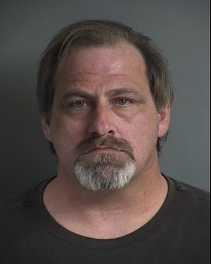 Andrew Joseph Harrison, 49, is being held in the Johnson County Jail after police arrested him Nov. 13 on a sexual abuse charge.