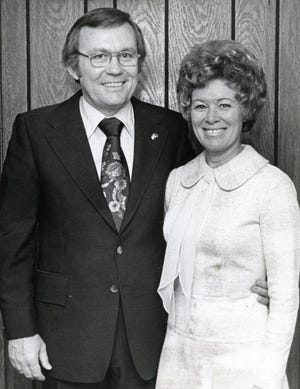 Ben and Sue Atchley on March 16, 1976.