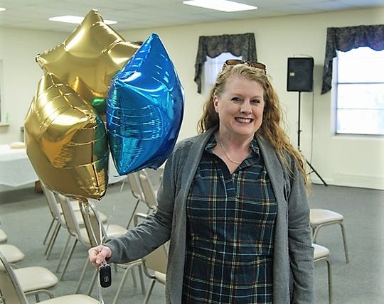 """""""Serving together is a blessing that enriches the work we do together,"""" said Good Shepherd coordinator Jennifer Bohlken. Bohlken has transformed the rooms at the church into a home for Family Promise guests, four times a year for the past eight years."""