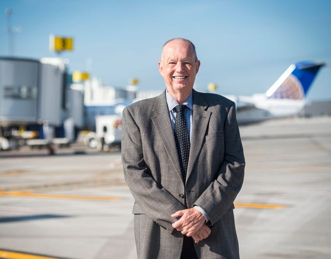 Metropolitan Knoxville Airport Authority president Bill Marrison at McGhee Tyson Airport on Friday, Sept. 7, 2018. Marrison announced his retirement and will leave his post on December 31 after 36 years with MKAA.