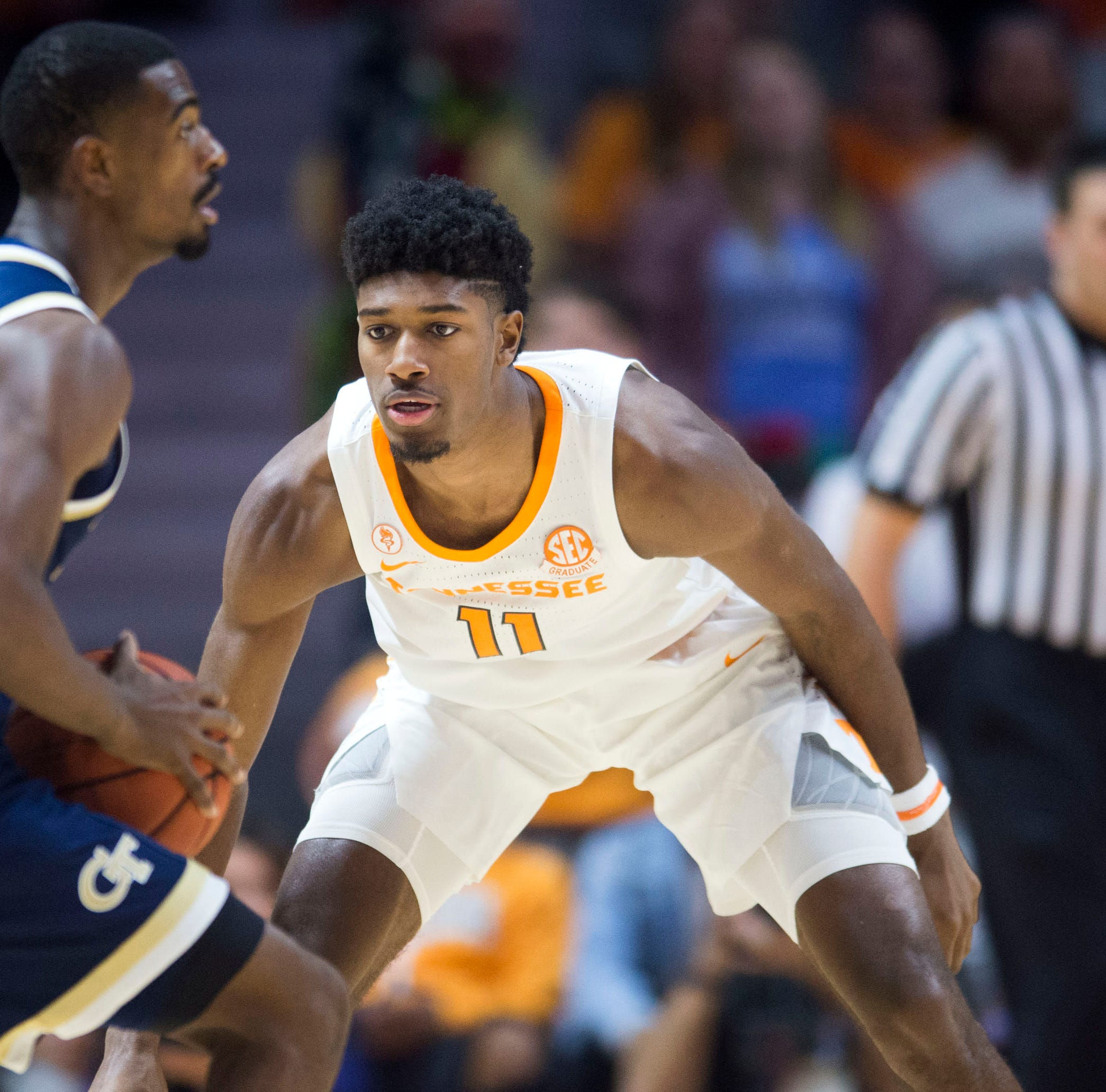 Kyle Alexander's 3-pointer, solid defense spark UT Vols basketball to win vs. Georgia Tech