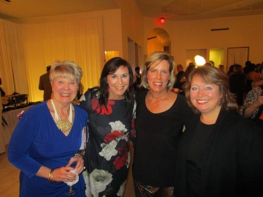 Linda Rose, Beth Hamilton, Yvette Davis and Allison Clarke