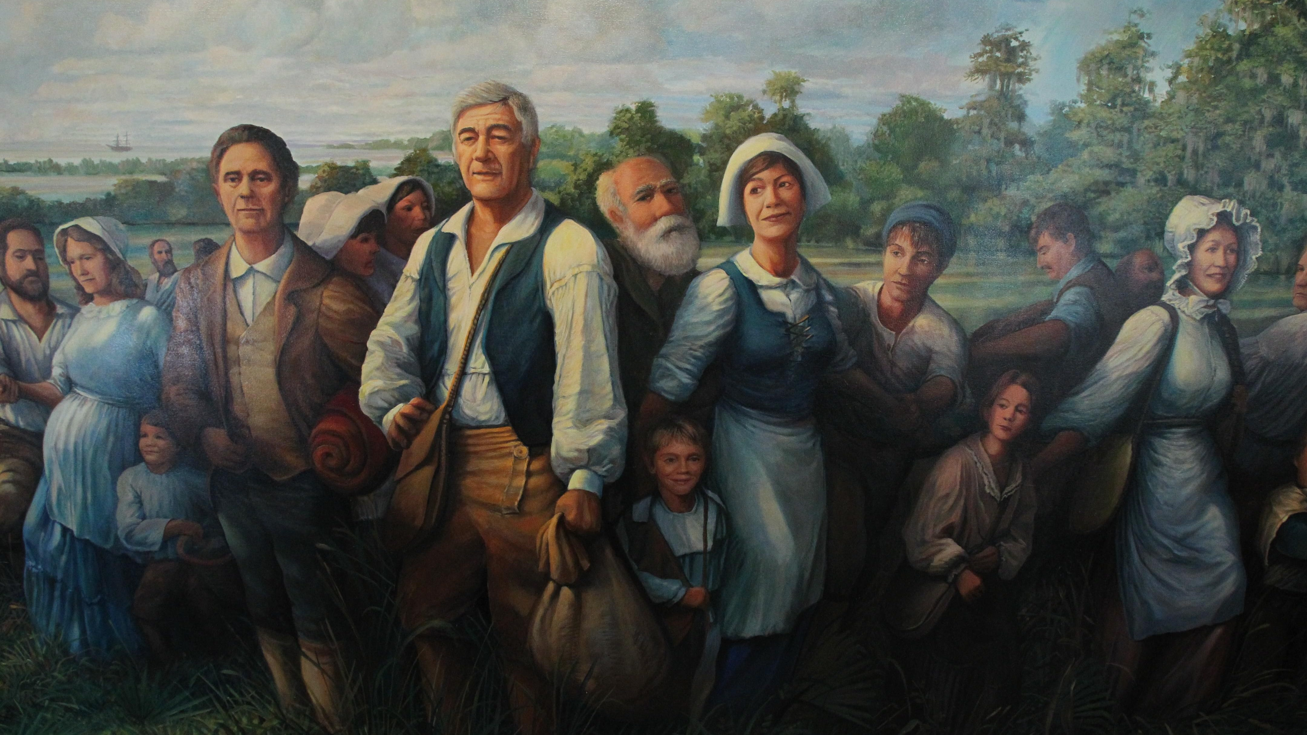 File photo The works of artist Robert Dafford, creator of the Acadian Memorial Museum mural in St. Martinville, are part of the Open Studio Tour this weekend.