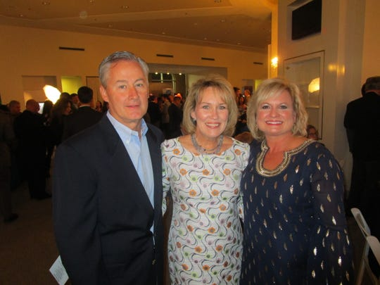Glenn and Kelly Courville and Jeigh Stipe