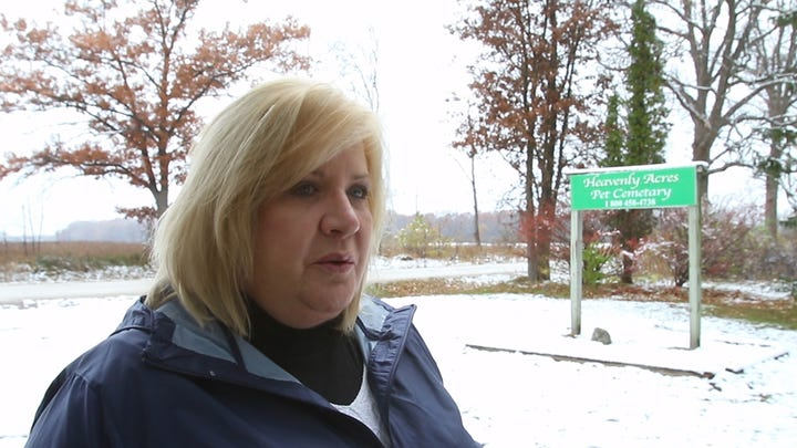 Video: Mich. pet cemetery closes leaving 74K remains, animal owners in limbo