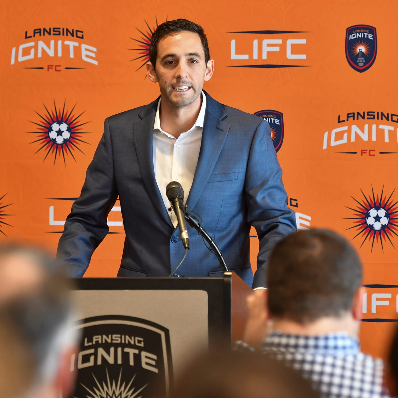 Lansing Ignite soccer's first coach, Nate Miller, ready to bring championships to the city