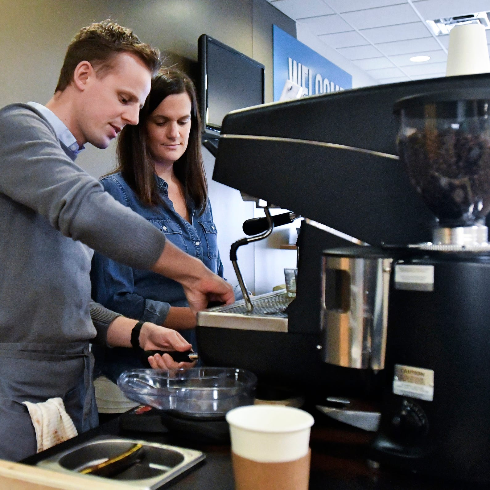 This East Lansing coffeehouse on wheels will come to you