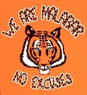 "The shirt design of Malabar's 2018 ""No Excuses,"" created by Gage Stephens."