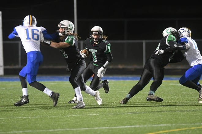 Trevon Trammell rushed for 223 yards and scored three touchdowns in Clear Fork's 26-8 win over Lorain Clearview in the Division IV regional semifinals.