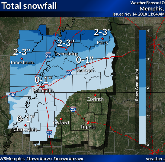 Winter Weather Advisory issued for Memphis, some snow expected