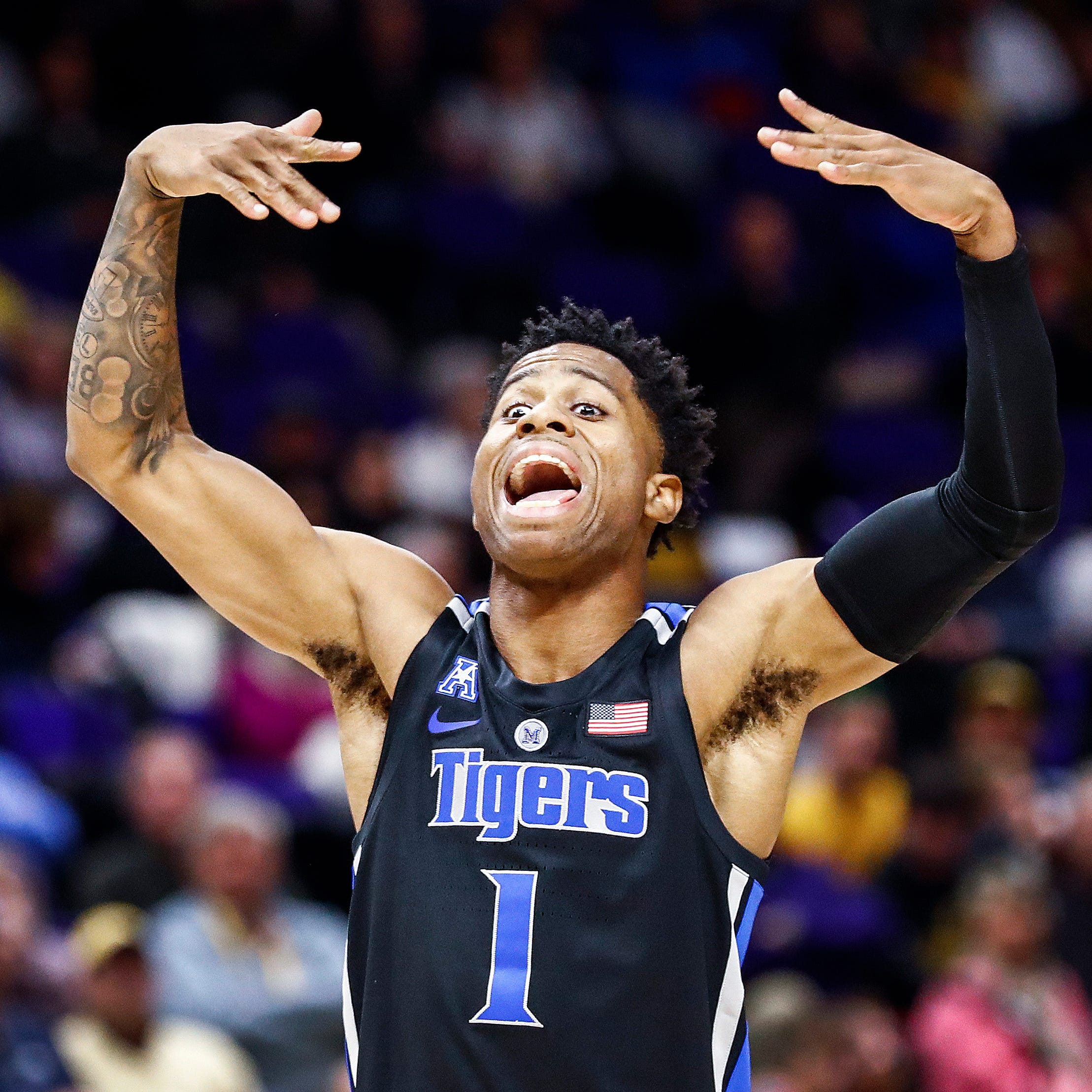 Tyler Harris is Memphis basketball's long-range weapon, and he's just a freshman
