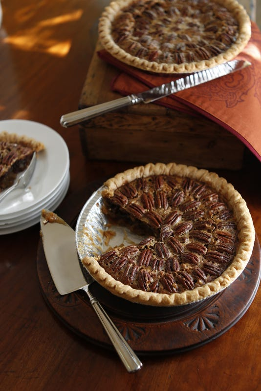 Bourbon Chocolate Pecan Pie2405
