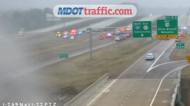 An accident has been reported at the intersections of I-269 and Route 78 in DeSoto County around 1:30 p.m. Wednesday afternoon.