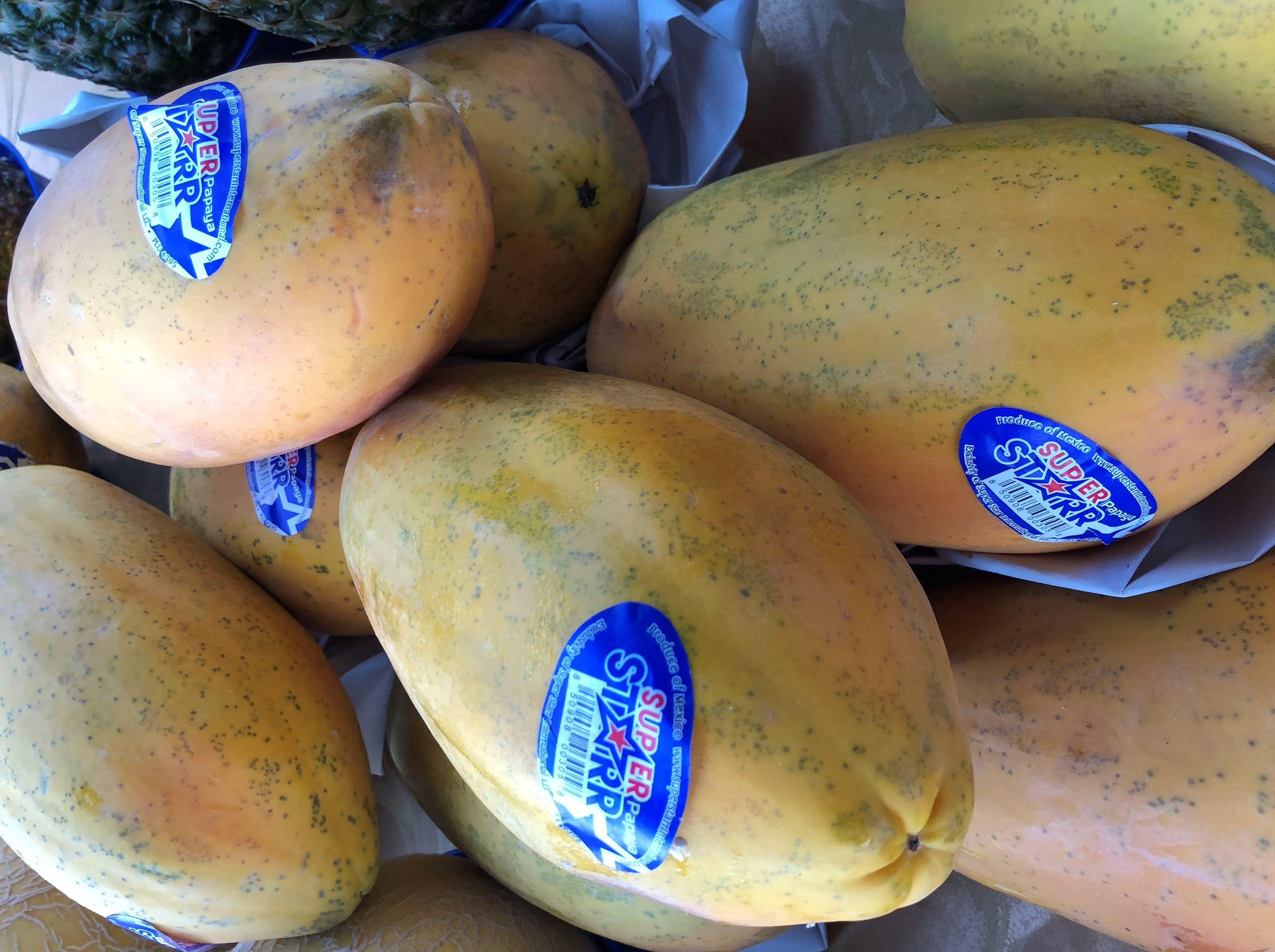 These papya's are gord-gous. Opening day for the Marco Island Farmers Market at Veterans Community Park was Wednesday, Nov. 14, 2018.