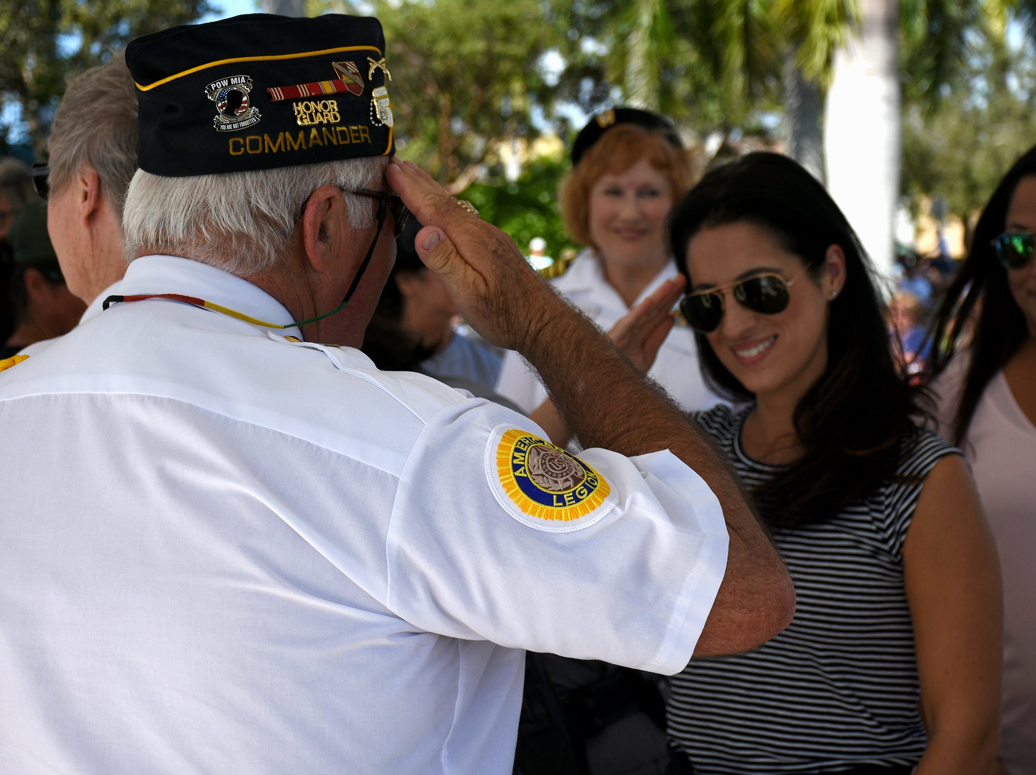 Marco Veterans Day observance focuses on 'women in the military'