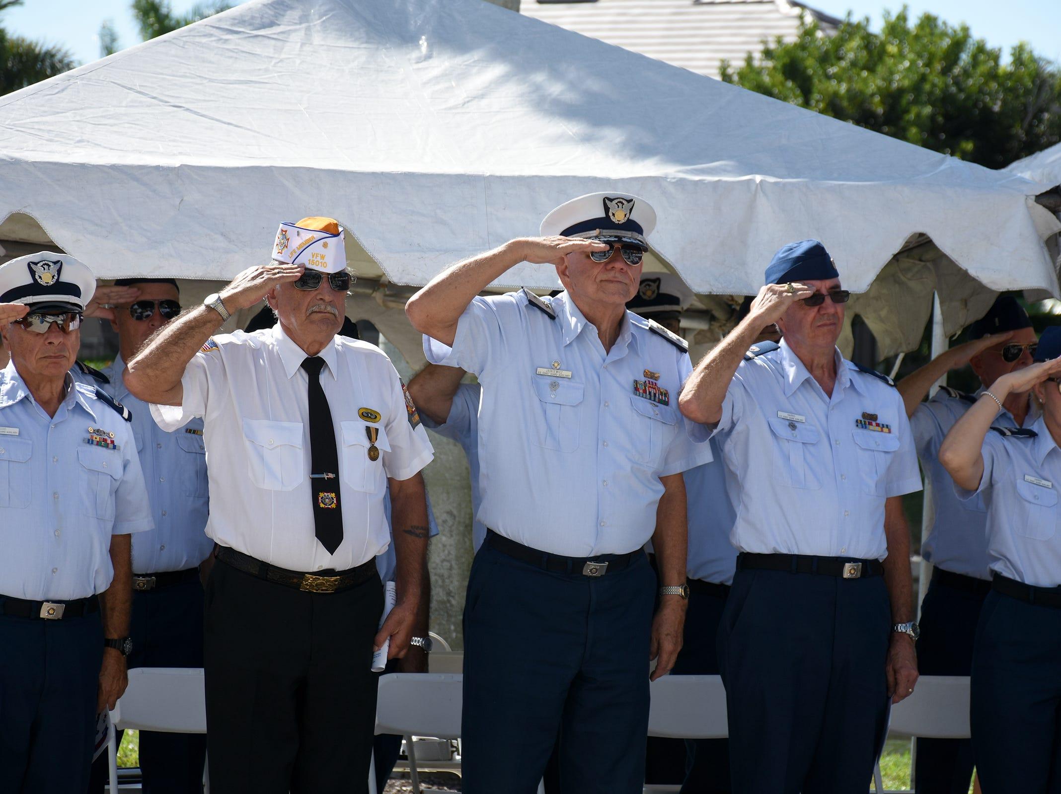 Photos: Veterans Day, Marco Island, 2018