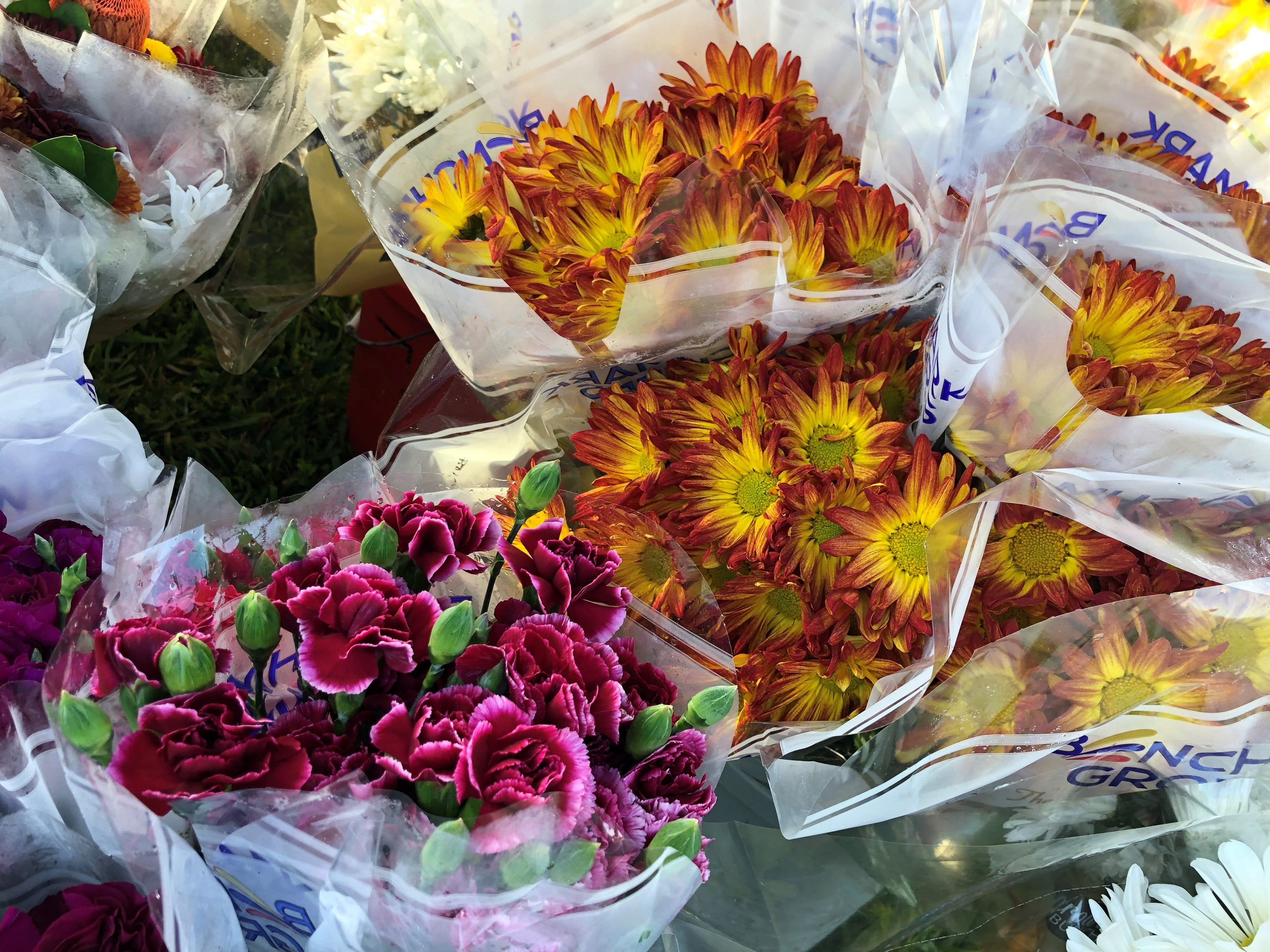 Apologies go better with fresh flowers; which can be found at the Marco Island Farmers Market at Veterans Community Park. Opening day was Wednesday, Nov. 14, 2018.