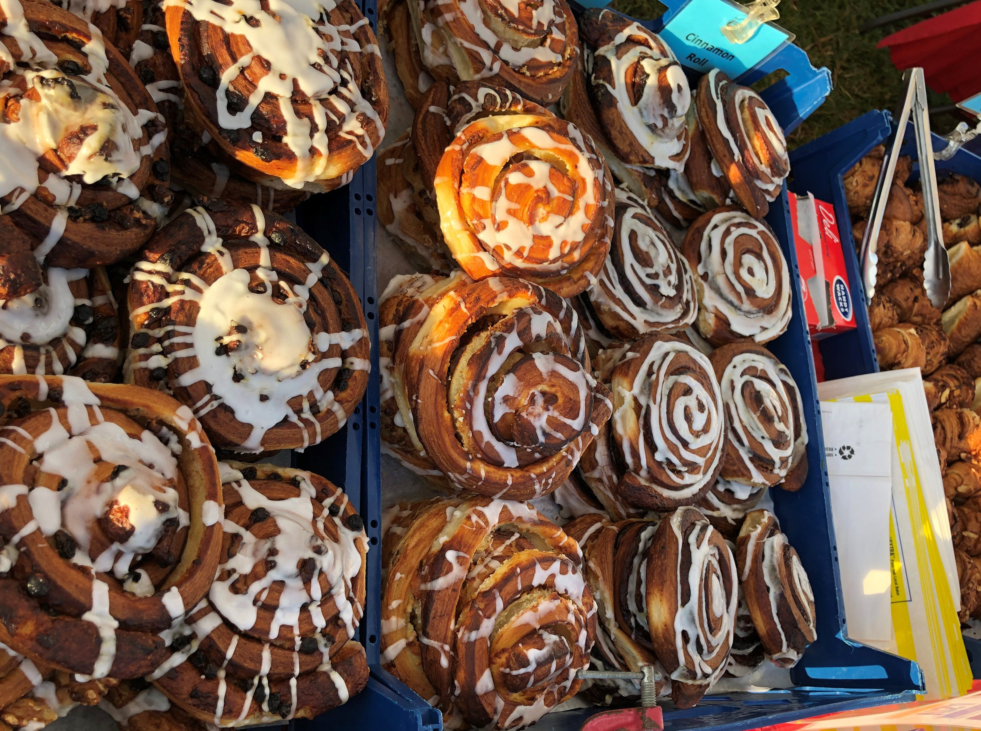 Fresh baked delights at JC's Daily Bread booth. Opening day for the Marco Island Farmers Market at Veterans Community Park was Wednesday, Nov. 14, 2018.