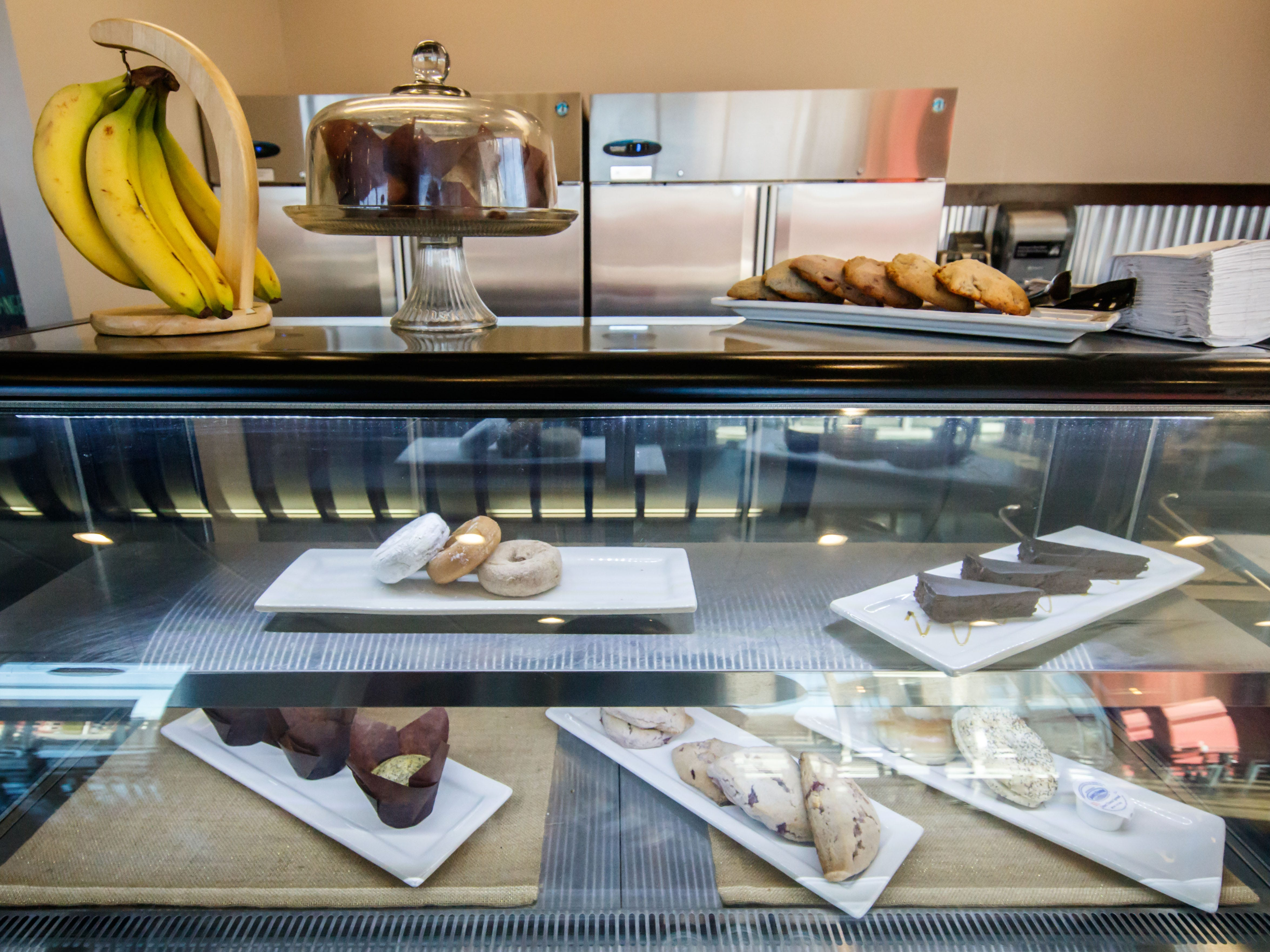Cafe De Arts European coffee house and eatery also offers a variety of sandwiches, baked goods and gluten-free treats at the newly opened second location on the corner of Main Street and Waukesha Avenue in the Village of Sussex on Tuesday, Nov. 13, 2018.