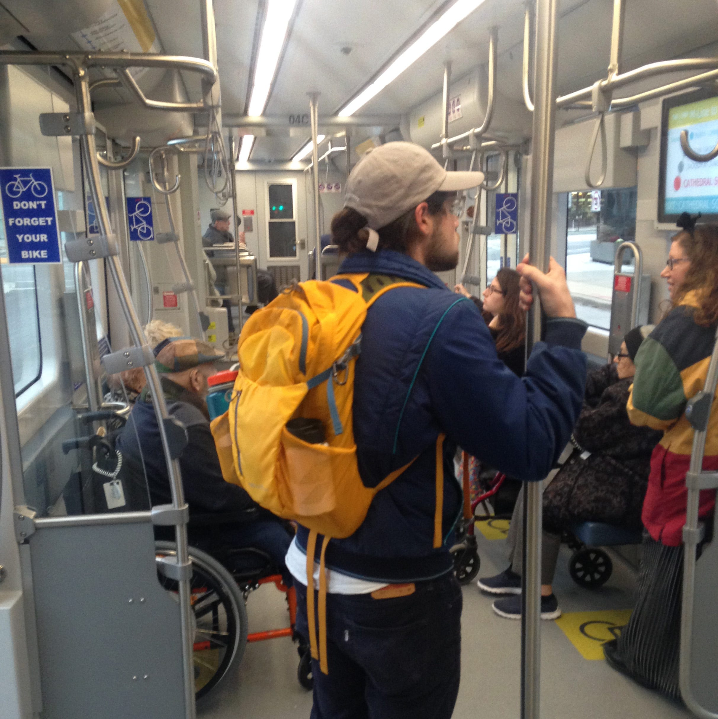 Stingl: You have to root for The Hop streetcar, a fellow rider told me, because 'it's here'