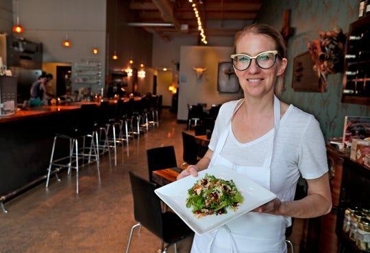Karen Bell is chef/owner of Bavette La Boucherie restaurant.