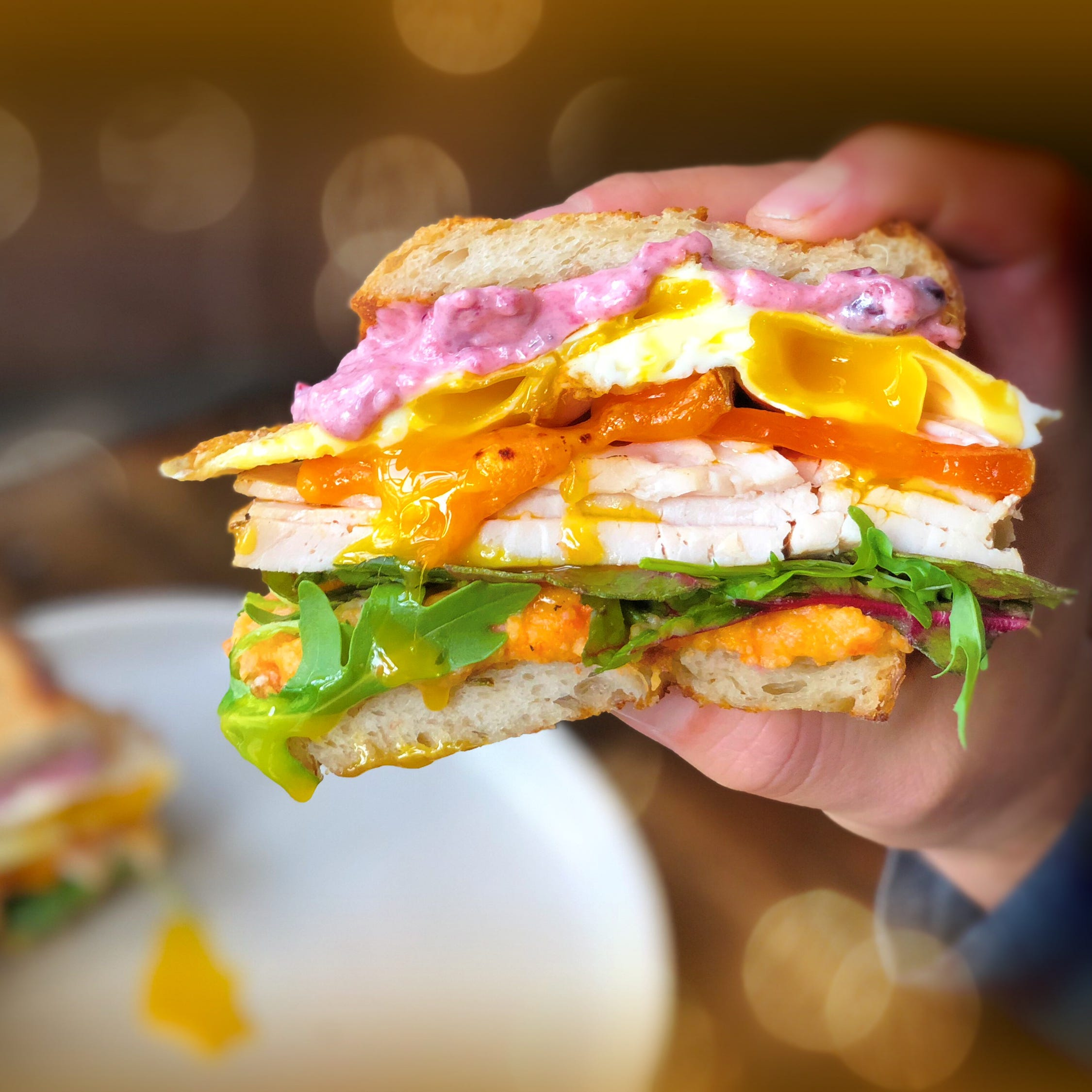 Where you see leftovers, chefs see the makings of an awesome sandwich